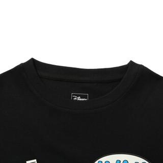 李宁T恤华晨宇心选迪士尼米奇联名款男女同款宽松短袖文化衫AHSQ212