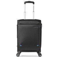 美旅拉杆箱 经典简约商务款万向轮密码锁登机旅行箱 软箱21英寸大容量可扩展TZ9黑色