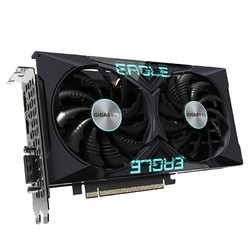 GIGABYTE 技嘉 GeForce GTX1650EAGLE OC-4GD DDR6 猎鹰游戏显卡