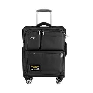 INTERNATIONAL TRAVELLER 双杆飞机轮拉杆箱旅行箱托运箱 1157K 黑色 20英寸