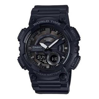 银联专享 : CASIO 卡西欧 AEQ110W-1BV 男子运动腕表