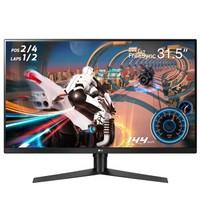 学生专享:LG 32GK650F 31.5英寸显示器(2K、144Hz、FreeSync)