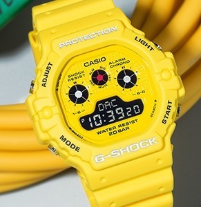 CASIO 卡西欧 G-SHOCK系列 DW-5900RS-9 男士石英手表