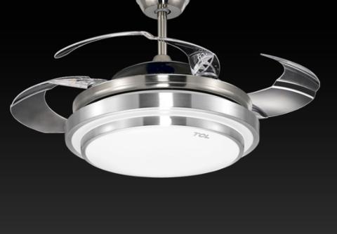 历史低价:TCL 清莹系列 LED吊扇灯 36寸 25W
