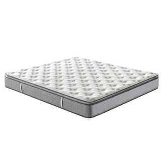 Sleemon 喜临门 双面天然乳胶床垫 抗菌防螨面料 独袋弹簧床垫 正反可睡 双面派 白色 180*200*25cm