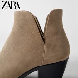 ZARA 13102510107 女士时装短靴