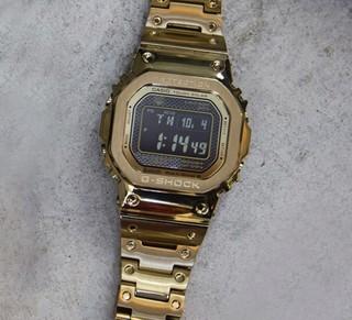 CASIO 卡西欧 G-SHOCK系列 GMW-B5000GD-9DR 男士电子手表