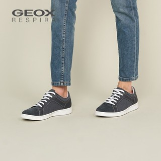 GEOX 健乐士  U020LA0NBME 男款运动休闲鞋 浅蓝色C4002 41