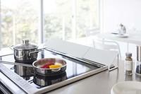 山崎实业 日本灶 烤箱排气口挡板 白色 *3件