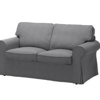EKTORP 爱克托 双人沙发 - 诺瓦拉 深灰色 - IKEA