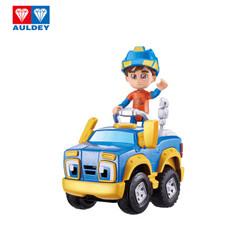 奥迪双钻(AULDEY)儿童玩具车电动车套装男孩玩具-机灵宠物车阿宝和小刚881210男女孩儿童节礼物+凑单品