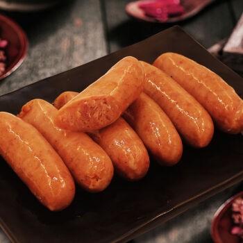 李绅  火山石纯肉地道烤肠 20根 2.4斤装