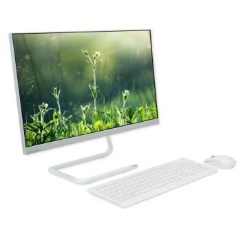 Lenovo 联想 AIO 520C 23.8英寸台式机 白色 锐龙R5-4600U 16GB 512GB SSD