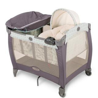 GRACO 葛莱 卡尔恩系列 多功能婴儿床  蓝色