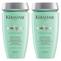 超值黑五、银联爆品日:KÉRASTASE 卡诗 双重功能修复去屑洗发水 250ml*2