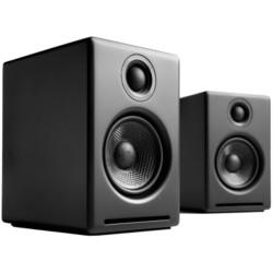 声擎(Audioengine)A2+ Wireless 高级桌面式蓝牙音箱 绸缎黑