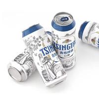 TSINGTAO 青岛啤酒 白啤 500ml*12罐