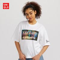 女装 (UT) PRINCESS & VILLAINS 印花T恤(短袖) 424787 优衣库