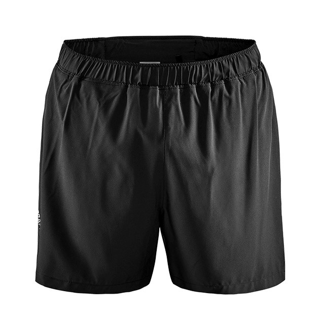 CRAFT Adv Essence 男款5寸運動短褲  黑色 M