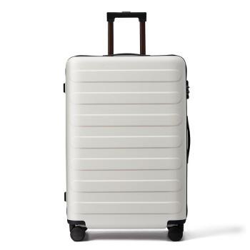 NINETYGO 90分 双杆万向轮拉杆箱旅行箱登机箱 百合白 20英寸