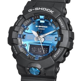卡西欧(CASIO)手表G-SHOCK系列双显时尚潮流多功能防水运动石英男表GA-810MMB-1A2