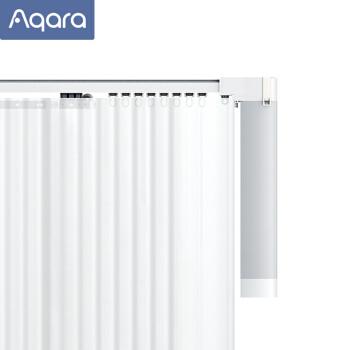 绿米Aqara 智能窗帘电机(开合帘版导轨套装)+3米内直轨+测量安装服务(厂家直送)(超出需补差价)