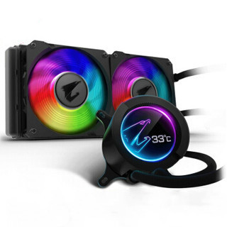 GIGABYTE 技嘉 AORUS LIQUID COOLER 280 一体式水冷散热器 RGB