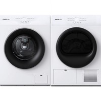 FRILEC 菲瑞柯 DH-10W3+FW-10W4 洗烘套装 10kg变频洗衣机+10kg热泵烘干机 白色
