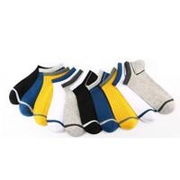Langsha 浪莎  MF10-10C 线条短袜 10双装