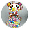 艺术品 村上隆 《Panda ,panda Cubs,and flowerball》画廊级别收藏品 银色版