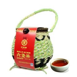 合箩茶_【省49元】中茶梧州六堡茶黑茶6166箩装窖藏珍品一级散茶250g*2
