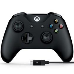 Microsoft 微软 Xbox One s 蓝牙手柄+PC连接线