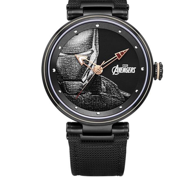 Disney 迪士尼 漫威联名系列 M-9047BBB 男士石英手表