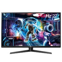 LG 27GK750F-B 27英寸 TN电竞显示器(FreeSync、240Hz、1ms)