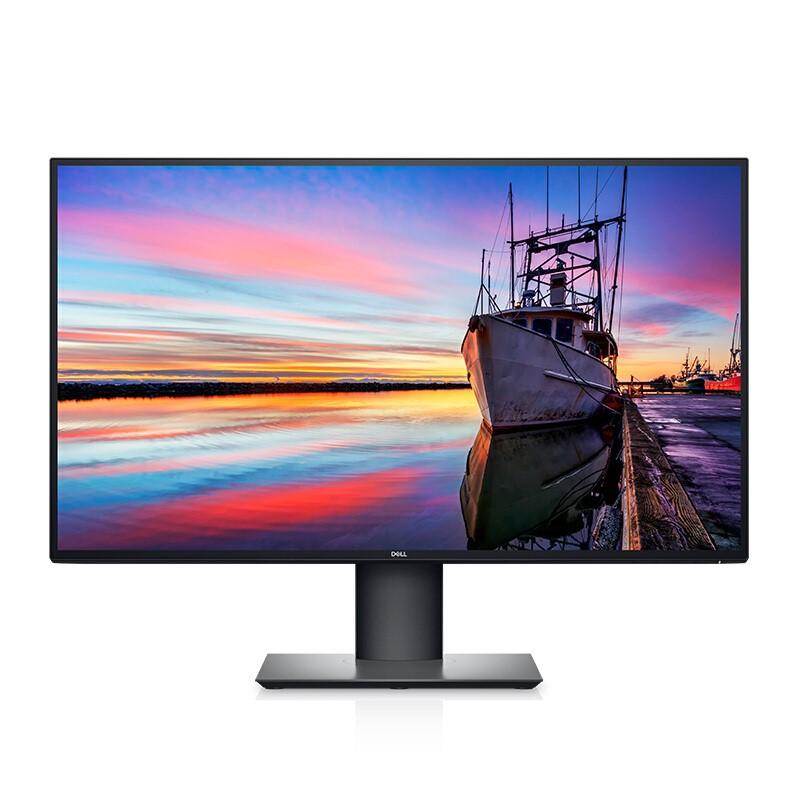DELL 戴尔 U2720Q 27英寸 IPS显示器(3840x2160、HDR400)银色 Type-c