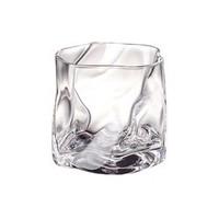 曼薇 扭曲杯身无铅玻璃水杯 280ml