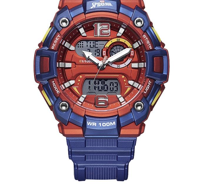 Disney 迪士尼 漫威联名系列 9102LLR 中性电子手表
