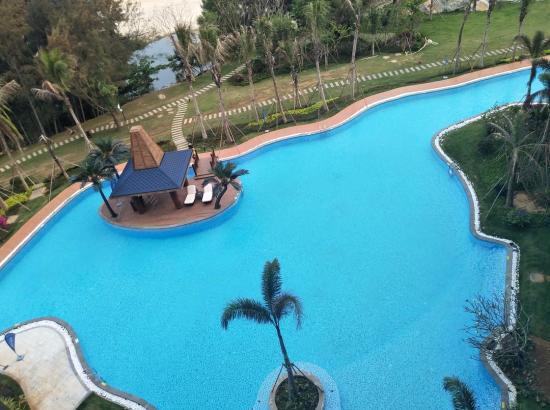 三亚香水湾阿尔卡迪亚度假酒店 海景家庭3人房2晚(含早餐)