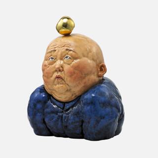 艺术品 稀奇限量版雕塑摆件瞿广慈作品《金苹果》 金苹果