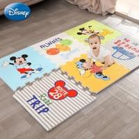 迪士尼爬行垫拼接XPE环保婴儿拼图泡沫地垫2CM XPE材质58x58厚2cm(6片装)