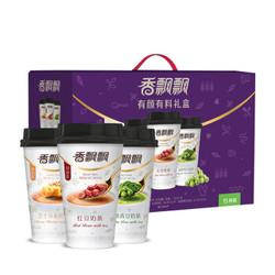 香飘飘奶茶 有颜有料15杯装礼盒装 红豆芝士抹茶3种口味 *2件