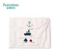 Purcotton 全棉时代 婴儿纱布汗巾 25x50cm  3条装