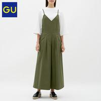 GU 极优 GU313632000 女装背带阔腿裤