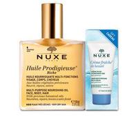 银联专享:NUXE 欧树 保养护理精油 100ml+ 干性肌肤日常保湿霜 15ml