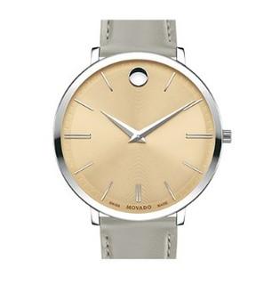 MOVADO 摩凡陀 瑞纤系列 0607372 女士石英手表