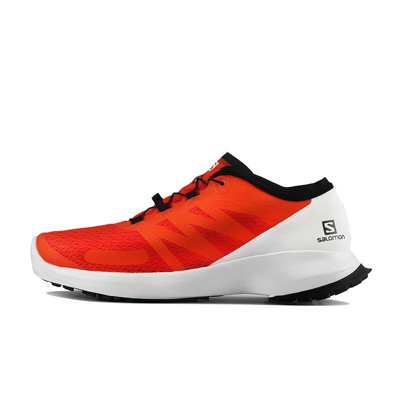 Salomon 萨洛蒙 SENSE FLOW M 409642 男士户外运动鞋 番茄红 UK(8 42)