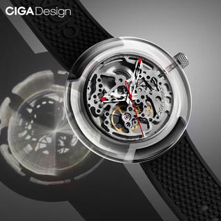 CIGA Design T系列 T011-TR90-5BK 男士自动机械手表
