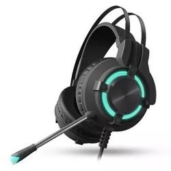 Dareu 达尔优 EH716 游戏耳机 虚拟7.1声道黑色
