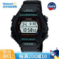 京东PLUS会员 : CASIO 卡西欧 DW290-1V 男款运动腕表