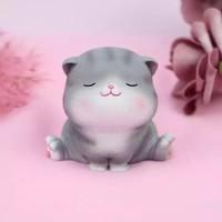 万火  七夕礼物猫咪创意摆件   A款-劈叉喵
